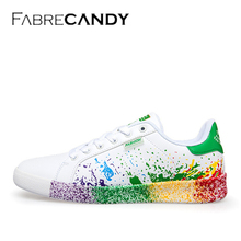 FABRECANDY Plus size 36 45 Spring summer Shoes For men Comfortably Lace up Flats Shoes men