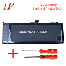 Original New A1321 Rechargeable Battery For Macbook Pro 15 A1286 Battery 2010 MC371 372 373 10