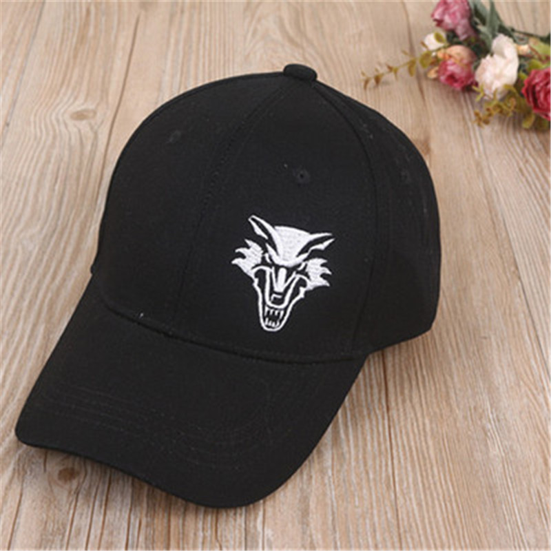 2018 Dragon tiger wolf eagle scorpion embroidery cotton Casquette   Baseball     Cap   Adjustable Snapback Hats for men and women 155