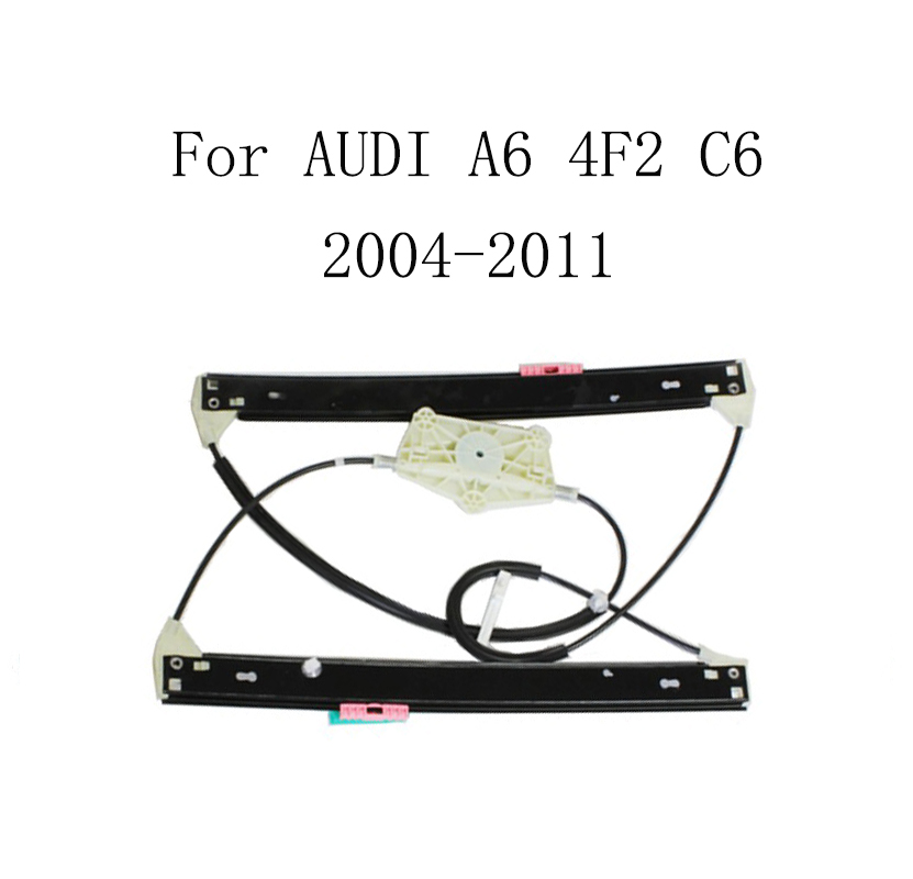 For AUDI A6 4F2 C6 2004-2011 Power Electric Car Window Regulator Window Lifter Replacement Front Right 4F0837462