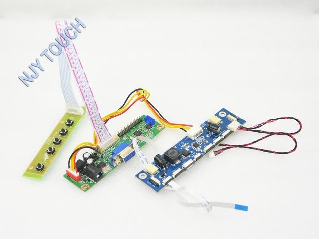 Frete Grátis V. M70A VGA Placa Controladora do LCD para M215HW01 V6 21.5 polegadas 1920x1080 6712K-F10N-02R LED LVDS 10 pinos 30 pinos TFT LCD