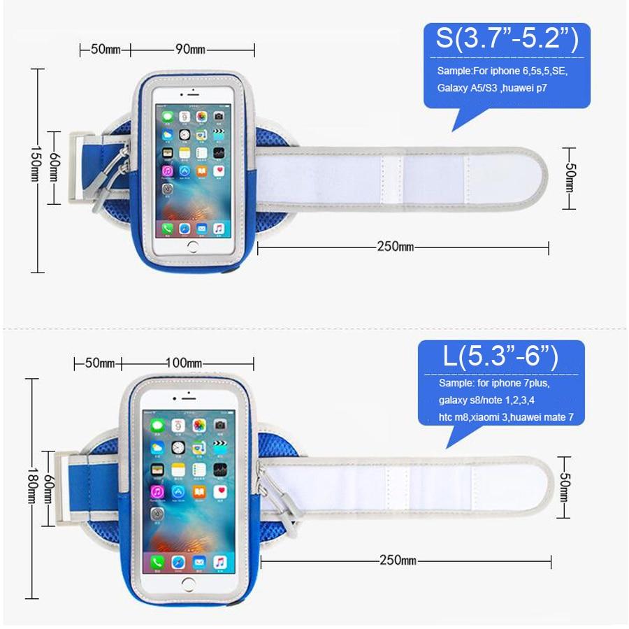 Running Case Belt Brassard Xiaomi- ի համար 9 mi mi 8 se a2 a1 - Բջջային հեռախոսի պարագաներ և պահեստամասեր - Լուսանկար 5