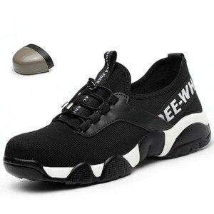 Image 1 - ฤดูร้อน2020ผู้ชายทำงานความปลอดภัยรองเท้าน้ำหนักเบาBreathable Casualรองเท้าผ้าใบป้องกันเจาะป้องกันBoots4