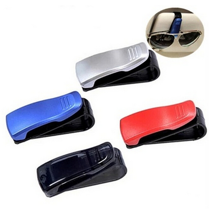 ABS Car Vehicle Sun Visor Sunglasses Eyeglasses Glasses Ticket Holder Clip Auto Fastener Clip Auto Accessories
