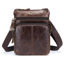 DCOS-BULLCAPTAIN для мужчин известный бренд повседневное сумки через плечо мужской мешок моды пояса из натуральной кожи мини на
