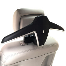 E-FOUR Высокое качество модные вешалка в автомобиль ABS + металлический комплект скольжения куртка авто заднее сиденье клип держатель Вешалка для одежды сумка в автомобиль