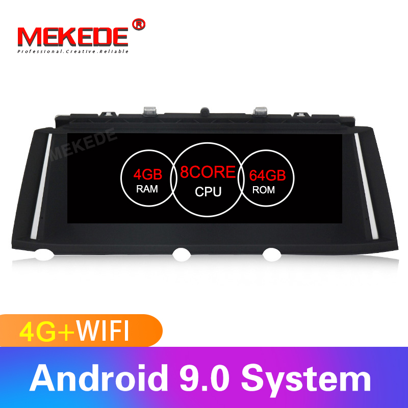 Mekede 8core android car gps dvd player for BMW 7 series F01 F02 Original car CIC NBT system Auto gps navi with 4G wifi BT