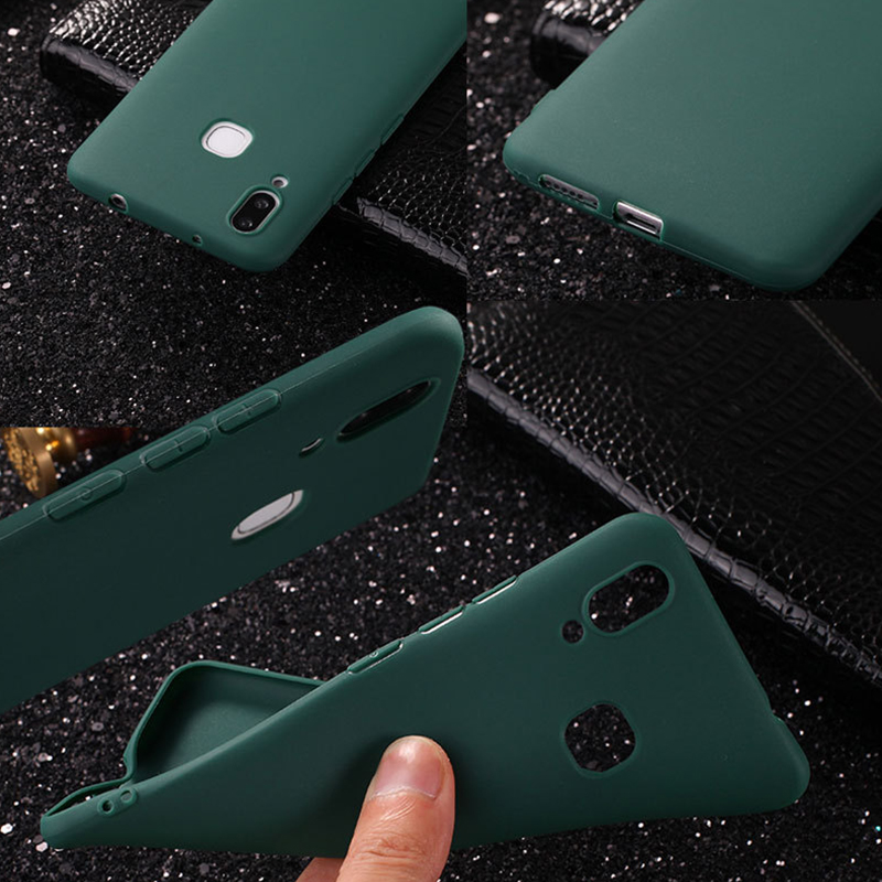 Ultra Thin Matte TPU Case For VIVO V9 Y85 Luxury Business Candy Soft TPU Phone Back Cover Coques Y85 V 9 Protective Fundas Capas (6)