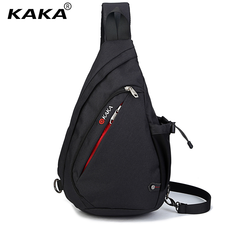 цены 2017 Fashion KAKA Brand Men and Women Messenger Bags Cross Body Chest Bags Water Shape Canvas Material 5 Colors Lovers' Favorite