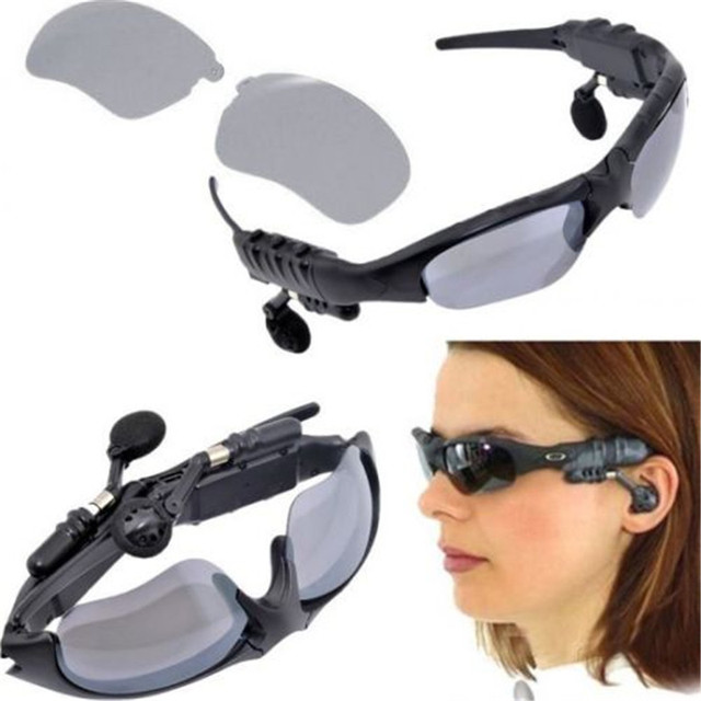 Image result for bluetooth eyeglass with headphone