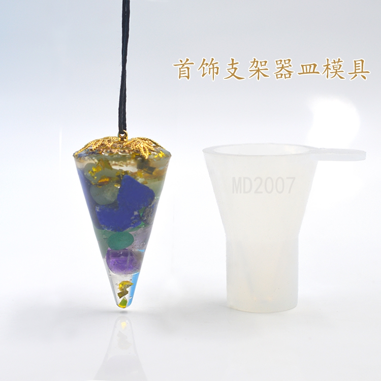 Flower Invitation Ring Holder Mould_Transparent Silicone Mold_ Jewelry  Mould For Resin Real Flower Jewelry DIY  Mould