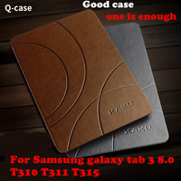 For Samsung Galaxy Tab3 Tab 3 8 0 T310 T311 T315 Tablet Cases Brand Kaku Classic