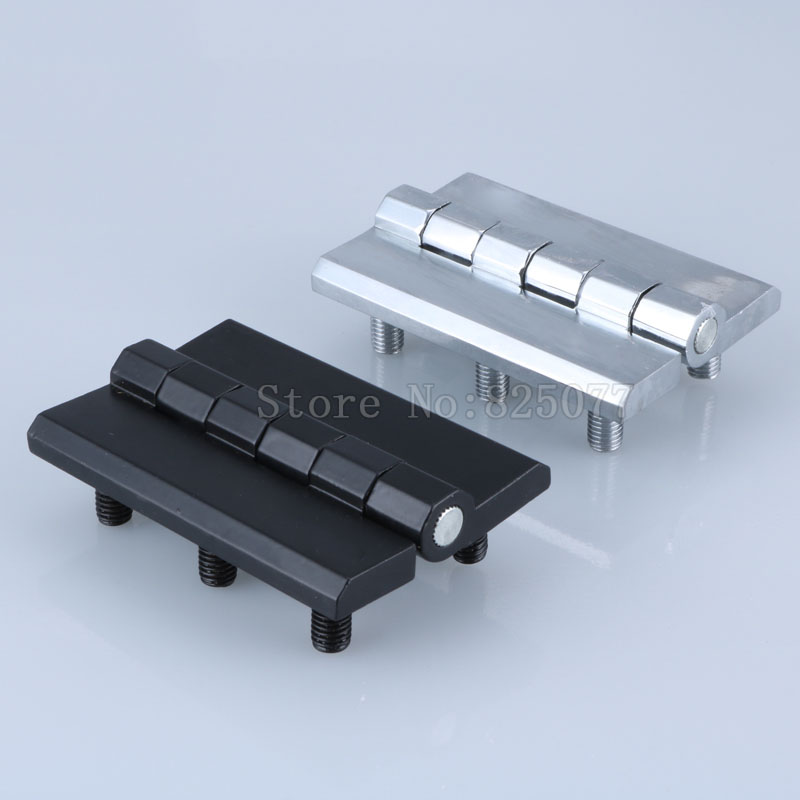 4X Black Silver Color Zinc Alloy Bearing Thickening hinge with 6 Studs Engine block hinge cabinet hinge industrial hinge JF1335 in Door Hinges from Home Improvement