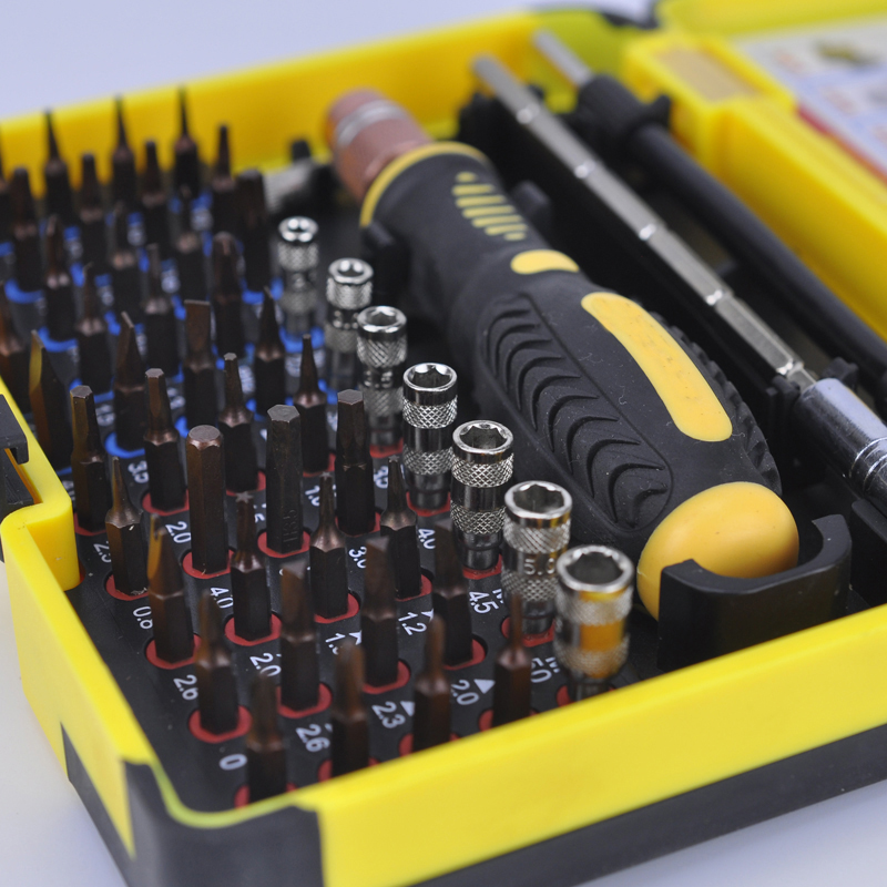 все цены на Interchangeable Magnetic 55 in 1 Multipurpose Precision Screwdriver Set Repair Tools for Cellphone PC