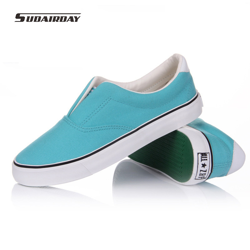 2016 New Fashion Women Casual Canvas Shoes Woman 9 Colors Walking Shoes Women Loafers Plus Size 35-44 Chaussure Femme