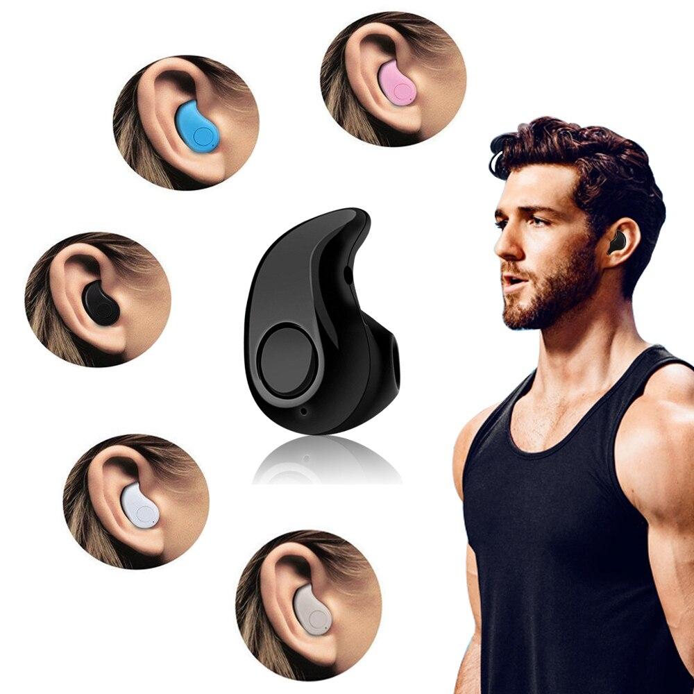 Mini Bluetooth Wireless Headset Auriculares auriculares Manos Libres con Micrófo