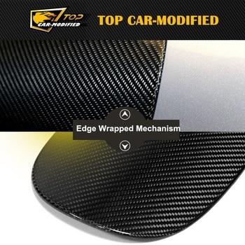 Free Shipping Carbon Fiber Mustang Car Oil Fuel Tank Cap Cover for Porsche macan