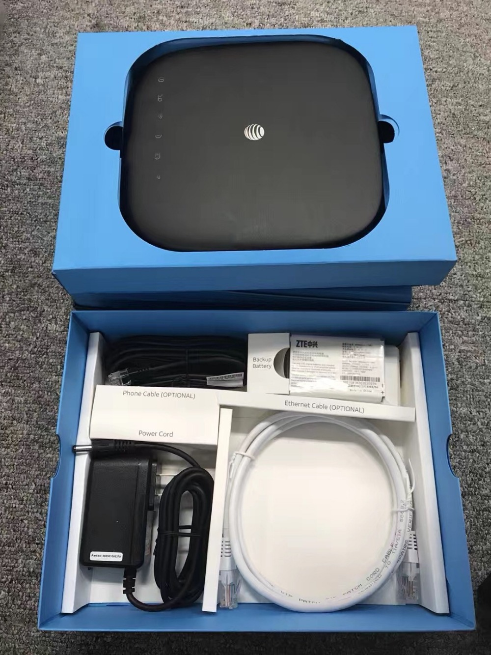 Moble internet ZTE MF279S mart Hub Support B2 B4 B12 AT&T LTE Wireless Internet Router Home Phone with Ethernet