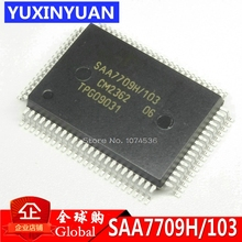 Автомобильный аудио чип SAA7709H/103 SAA7709H SAA7709 SAA7709H/N103 QFP80, оригинальный продукт, 10 шт./лот