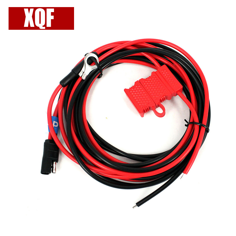 XQF Power Cable For Motorola GM300/338/3188 CM140 Hf Transceiver Ham Radio