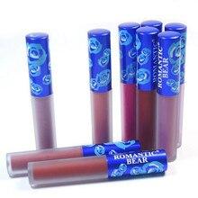 Фотография Brand New Matte Lipstick Beauty Batom Long Lasting Labiales Rouge Matte Liquid Waterproof Makeup 12 Colors Lip Gloss Cosmetics