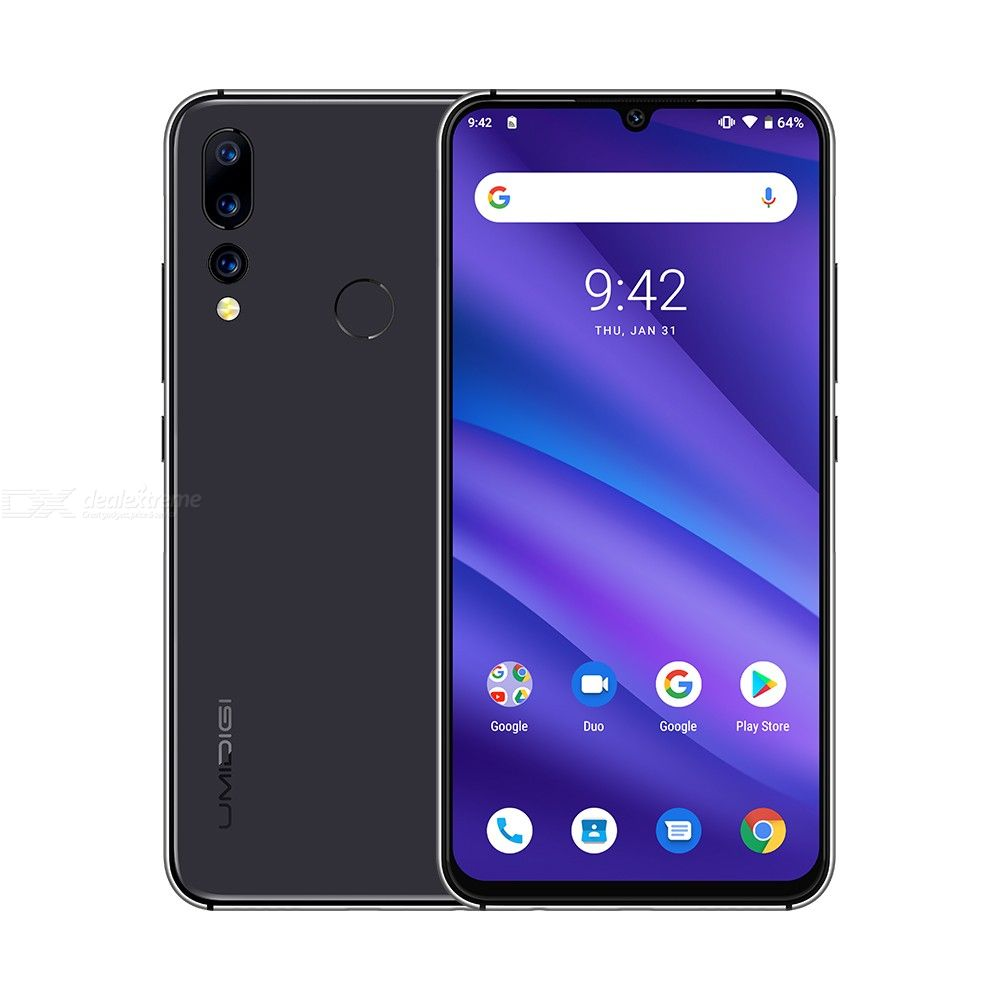 Image 2 - UMIDIGI A5 PRO Android 9.0 Octa Core 32GB 6.3' FHD+ Waterdrop 16MP Triple Camera Dual 4G  4150mAh 4GB RAM 4G Celular Smartphone-in Cellphones from Cellphones & Telecommunications