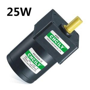Image 1 - المحرك التعريفي 25 واط ثابت سرعة المحرك 4IK25GN 110 فولت/220 فولت/380 فولت 80 مللي متر سينغال المرحلة