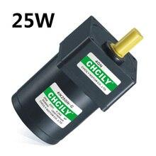 אינדוקציה מנוע 25 W קבוע מהירות מנוע 4IK25GN 110 V/220 V/380 V 80mm Singal שלב