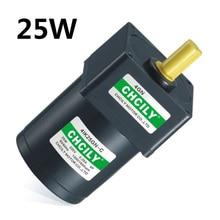 Inductie motor 25 W Constante snelheid motor 4IK25GN 110 V/220 V/380 V 80mm Singal fase