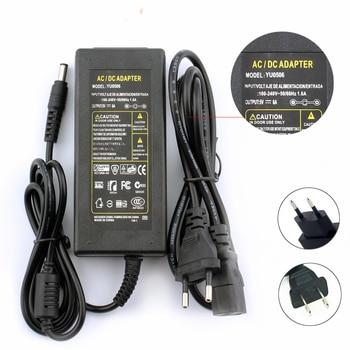 Cargador/adaptador de corriente 12 V 5 V 5A 6A 8A DC 220v voltios DC 12 V 5 V UE nos macho Transformador de conmutación adaptador de fuente de alimentación de 12 V voltios