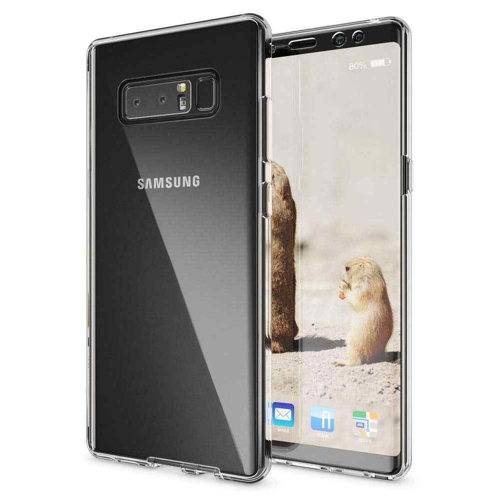 Para Samsung Galaxy J4 J6 J8 J2pro 2018 J3 J5 J7 2017 2016 claro cubierta de teléfono TPU suave bolsa funda completa Coque de 360 grados