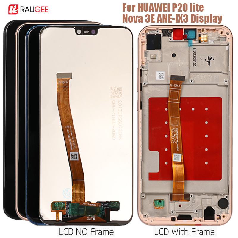 Display For Huawei P20 Lite Lcd Display Touch Screen Digitizer Replacement for Huawei P 20 lite/Nova 3E ANE-LX3 Dispaly 5.84
