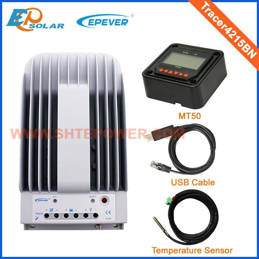 Tracer4215BN 40A 12 v/24V150V MPPT regolatore solare e MT50 metro di distanza e cavo di comunicazione USB e RTS300R47K3.81AV1.1 sensoreTracer4215BN 40A 12 v/24V150V MPPT regolatore solare e MT50 metro di distanza e cavo di comunicazione USB e RTS300R47K3.81AV1.1 sensore