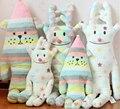 Brinquedos clássicos Japão CRAFTHOLIC Sorriso Cão Alce Alce l Macio Stuffed Plush Toy