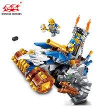 Lepin War chariot 261 Pcs  Boy children Club Friends Set  The Maker Building Block Toys Models & Building Blocks Toys Christmas