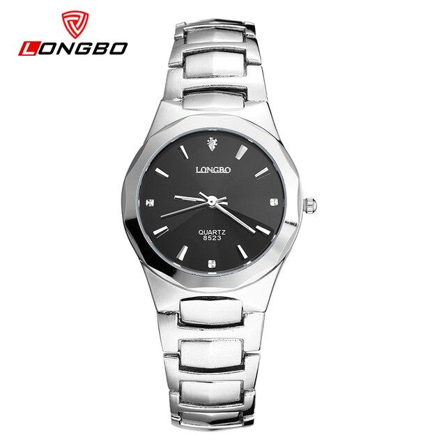 2d81834d61b LONGBO Brand Watches Women Luxury Fashion Business Female Full Steel Watch  Quartz Waterproof Ladies Rhinestone Hours