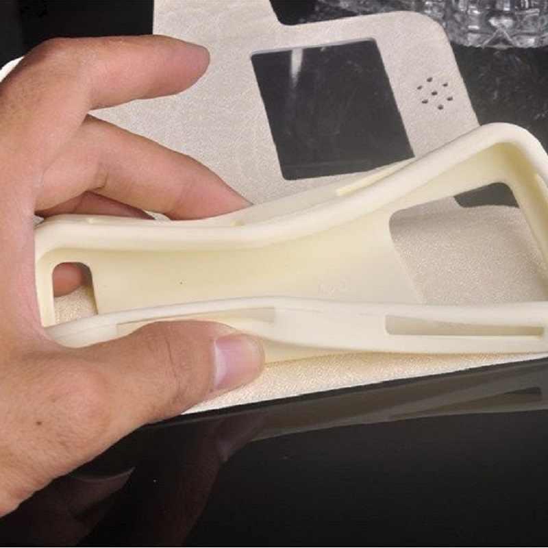 Micromax Q413, 2019 Baru Fashion Mewah Kulit Flip Pu Silikon Ponsel Case untuk Micromax Canvas XP 4G Q413 Gratis Pengiriman