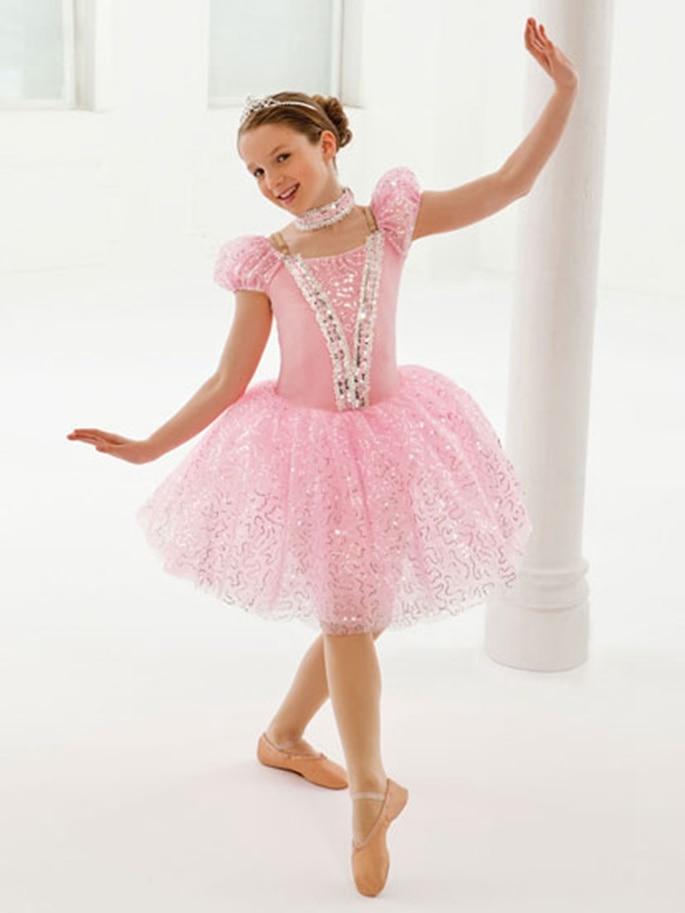 Noble Tutu Ballet Professional Ballerina Dress Kids Women Pink Edle