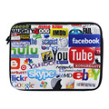 "Hot Design 15"" Laptop Soft Neoprene Bag Sleeve Case Soft Neoprene Pouch For 15.5"" 15.6"" HP DELL ACER SONY"
