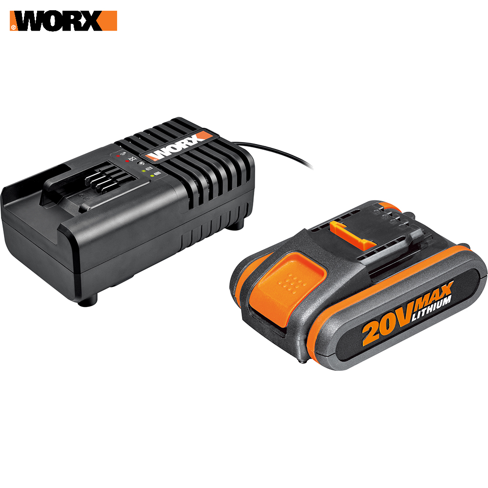 Rechargeable Batteries WORX WA3601 accumulator for power tool acb lithium ion charging device