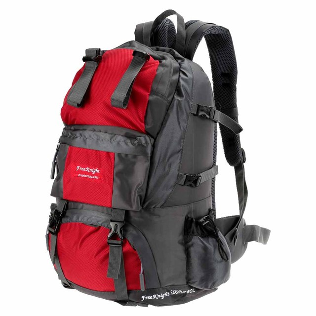 159a7c5c18 Free Knight Hiking Backpack 50L Waterproof Sports Bag Big Capacity Outdoor  Bags Mountaineering Hunting Travel Backpacks