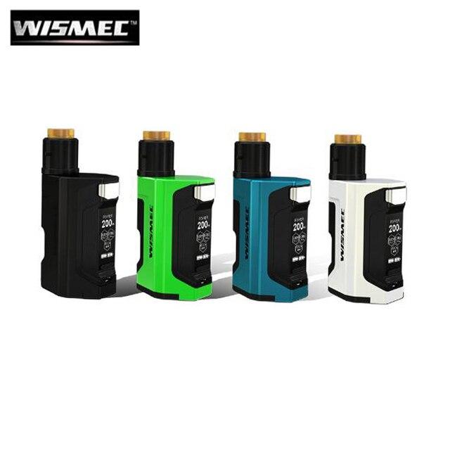 100% оригинал Wismec Luxotic DF коробка гильотина V2 электронная сигарета комплект Luxotic DF мод с гильотина V2 RDA 7 мл бутылка комплект