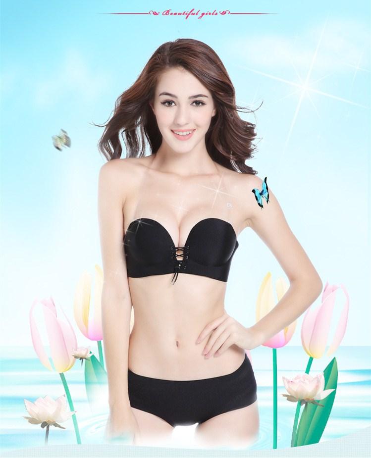 c286506b79fa9 MYNOVAZ Women Sexy Underwear A Piece Of Seamless Non-Ring Bra Wire Drawing  Gather Thin Adjustment Bra Push Up Plus Size 90C BraUSD 11.60-12.91 piece