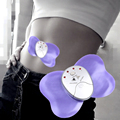 Mini Butterfly Design Body Muscle Massager Electronic Slimming Losing Weight Massager for Fitness 4 LED Lights Display