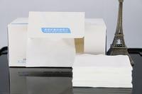 20 dozen/LOT Groothandel 1 box = 100 stks 100% katoen pulp Handdoek wegwerp reiniging doekjes schoonheid speciale een Tissues Make katoen