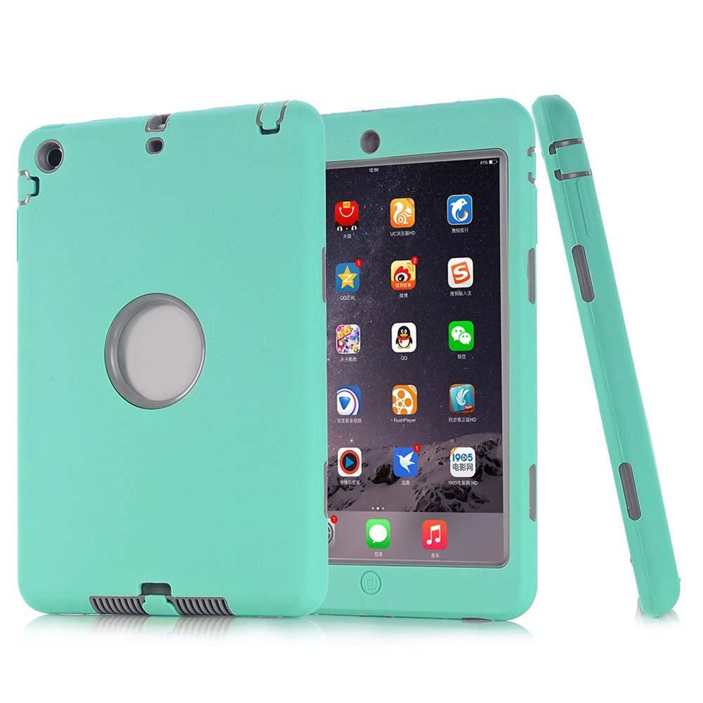 Shockproof Hybrid Heavy Duty Rubber Hard Case Cover For Apple iPad Mini MG&GE case ipad mini i pad mini cases