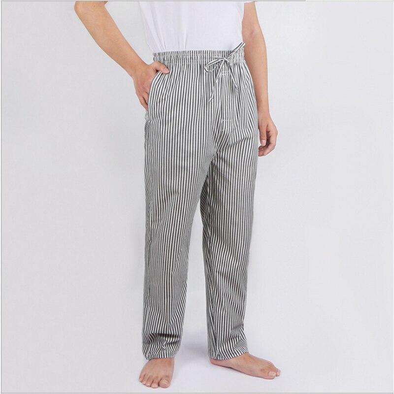 2019 летние мужские брюки для сна из 100% хлопка, мужские брюки для сна больших размеров, Пижама для мужчин, повседневная клетчатая Пижама
