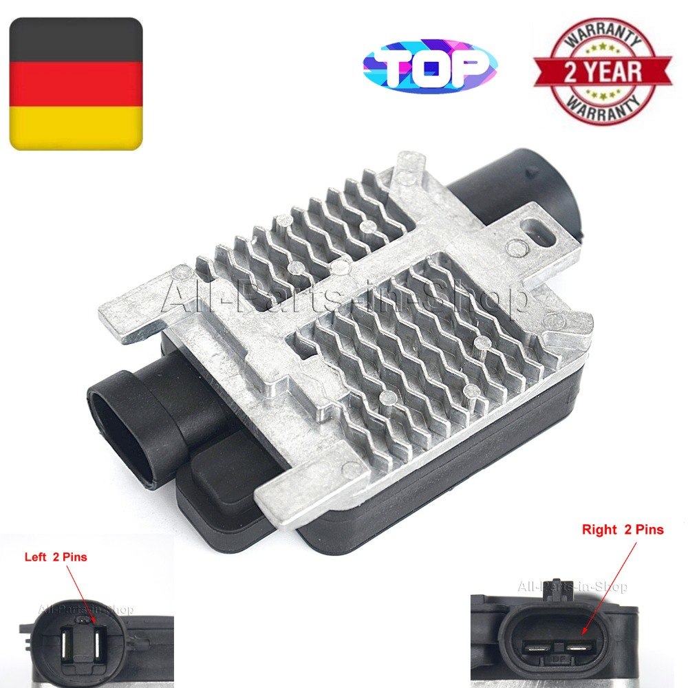 New For 2000-06 Ford Focus Engine Cooling Fan Control Resistor Radiator Module