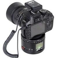 original Metal Electric Head AFI MA2 360 degree panoramic Time lapse shooting Lasting Life HD Display For Canon Nikon Sony DSLR