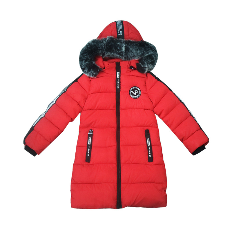 New 2017 Casual Winter Children Hoodies Jacket & Coat Girls Clothes Kids Cotton-padded Clothes Padding By Hand Warm Coat  6-14T children winter coats jacket baby boys warm outerwear thickening outdoors kids snow proof coat parkas cotton padded clothes